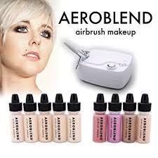 professional airbrush makeup system aeroblend airbrush makeup personal starter kit