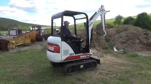 2002 bobcat 322 d series mini rubber track excavator for sale mark