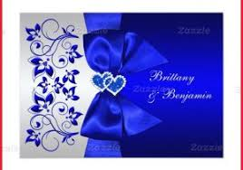 royal blue and silver wedding royal blue wedding invitation designs 265954 royal blue silver