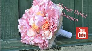bridal flowers diy bridal bouquet how to create your own vintage wedding flowers
