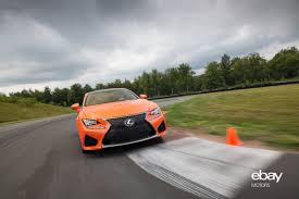 rcf lexus orange review 2015 lexus rc f u2013 powerful impact ebay motors blog
