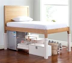 Raised Bed Frame Raised Bed Bedroom How To Raise A Bed Frame The Floor Best Bed