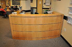 Used L Shaped Desk Front Desk Awesome Used Front Desk For Sale Used Front Desk For
