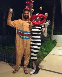 halloween cookie monster costume aaahh real monsters costume 90s nickelodeon couples costume