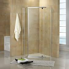 Angled Shower Doors 36 X 36 Neo Angle Corner Shower Enclosure Bathroom