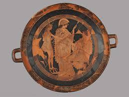 Euphronios Vase Attic Red Figure Cup Louvre Museum Paris