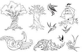 download tato batik tattoo vector set vector misc free vector free download