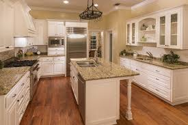 kitchen cabinet ideas with wood floors tile vs hardwood flooring for a kitchen eastside design