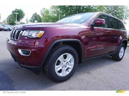 jeep grand cherokee limited 2017 red 2017 velvet red pearl jeep grand cherokee laredo 120018187