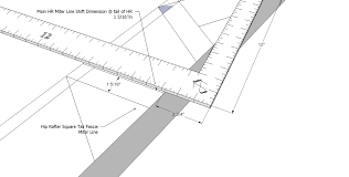 Irregular Hip Roof Framing Roof Framing Geometry How To Precisely Layout An Irregular Pitch