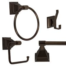 Bathroom Hardware Sets Amazon Com 4 Piece Bathroom Hardware Accessory Set With 24
