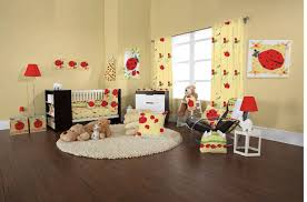 Ladybug Crib Bedding Set Interesting Ladybug Nursery Room Decorations By You Yellow Baby