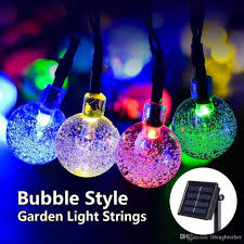 Solar Outdoor Christmas Tree Lights by Cheap 30 Led Crystal Ball Solar Light Strings Christmas Trees