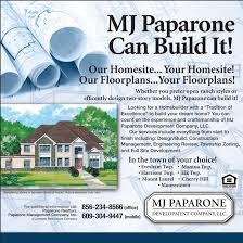 Home Design Story Review Mj Paparone Development Company U2013 Southern New Jersey New Home