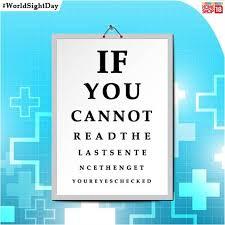 World Blindness Day All Eyes Focused On World Sight Day 13 10 2016 Vita International