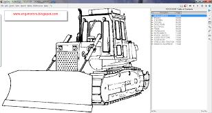 البرنامج الخاص بقطع غيار معدات كوماتسو komatsu linkone 2011