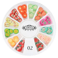 aliexpress com buy perfect summer nail art decorations fruit