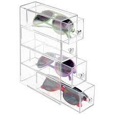 Clear Desk Organizer Interdesign Vanity Organizer 4 Draws Clear 2 75 X7 X10 36560