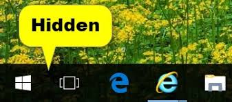 Windows Search Box - hide or show search box or cortana icon on taskbar in windows 10