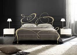 double bed new baroque design wrought iron ghirigori cantori