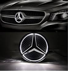 mercedes car emblem amazon com jetstyle led emblem for mercedes front car