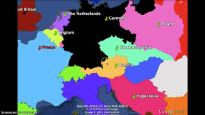 Map Of Europe During Ww2 by German Expansion 1936 1941 Youtube
