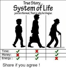 True Story Meme - true story system of life you are normal that why be ungiue nergy