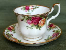 country roses tea set vintage country roses tea cup saucer set 1962 royal albert