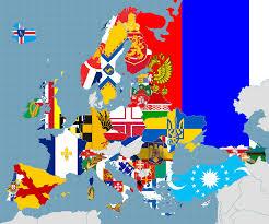 Europe Flag Map by Alternate Flags By Fenn O Manic On Deviantart