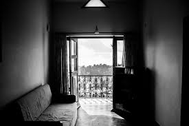 free images open light black and white house home balcony