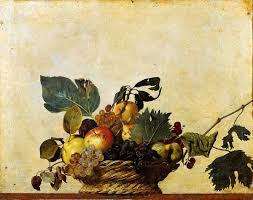 basket of fruit basket of fruit caravaggio