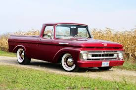 Ford Vintage Truck - 1961 ford unibody pickup has a rod attitude rod network