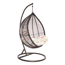 Trully Outdoor Wicker Swing Chair by Swing Chair Egg Shaped Outdoor Swing Chairs Hanging Swing