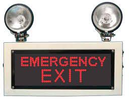 exit sign light bulbs emergency exit sign light bulbs at rs 4650 piece avinashi tal