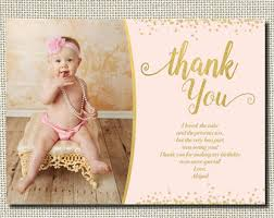 birthday thank you card birthday thank you etsy