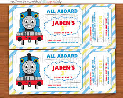 cool thomas and friends invitations apples design now in