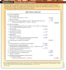 solved use worksheet 5 2 aurelia montenegro is currently rent