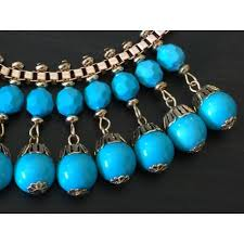 turquoise coloured necklace images Grecian revival turquoise coloured necklace jpg