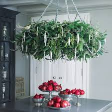 holiday wreath chandelier martha stewart