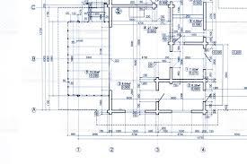 blueprint floor plan part of blueprint floor plan architectural drawing background stock