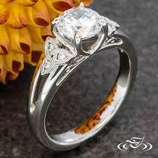 filigree engagement ring celtic knot filigree engagement ring