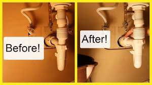 leaking drain pipe under bathroom sink replace a leaking sink drain pipe can we do this youtube