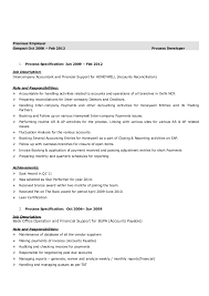 Account Payable Job Description Resume by Manish Anand Resume V1