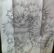 baby angel holding rose tattoo design photo 3 2017 real photo