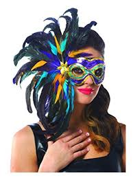marti gras masks mardi gras feather mask clothing