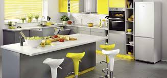 gray and yellow kitchen ideas yellow and gray kitchen fpudining