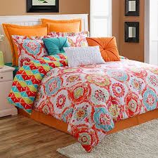 Kohls Bed Set by Ava Reversible Comforter Set