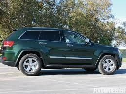 green jeep grand cherokee 2011 jeep grand cherokee overland four wheeler magazine