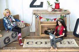 Kruses Workshop Building For Barbie by Wooden Barbie Doll House Furniture