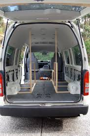 toyota hiace commuter the campervan converts
